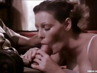 Annette Haven giving a good blowjob