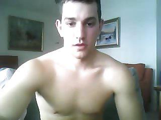 Greek Handsome Boy With Rock Hard Big Cock On Cam