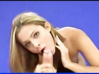 French pornstar Clara Morgane suck a fan