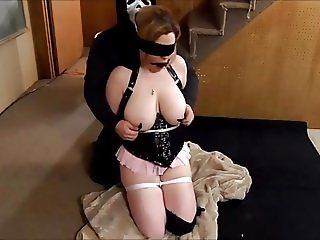 Bondage surprise for boyfriend goes awry