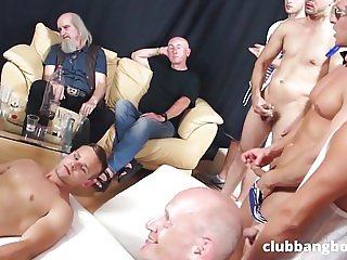 GayBangBoy gay orgy party