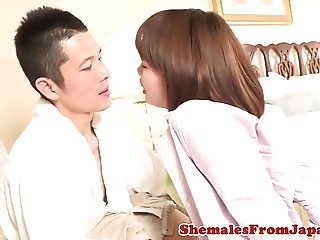 Japanese newhalf realtor assfucked after bj