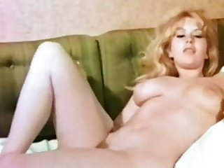HEIGH HO - vintage 60's busty blonde beauty teases